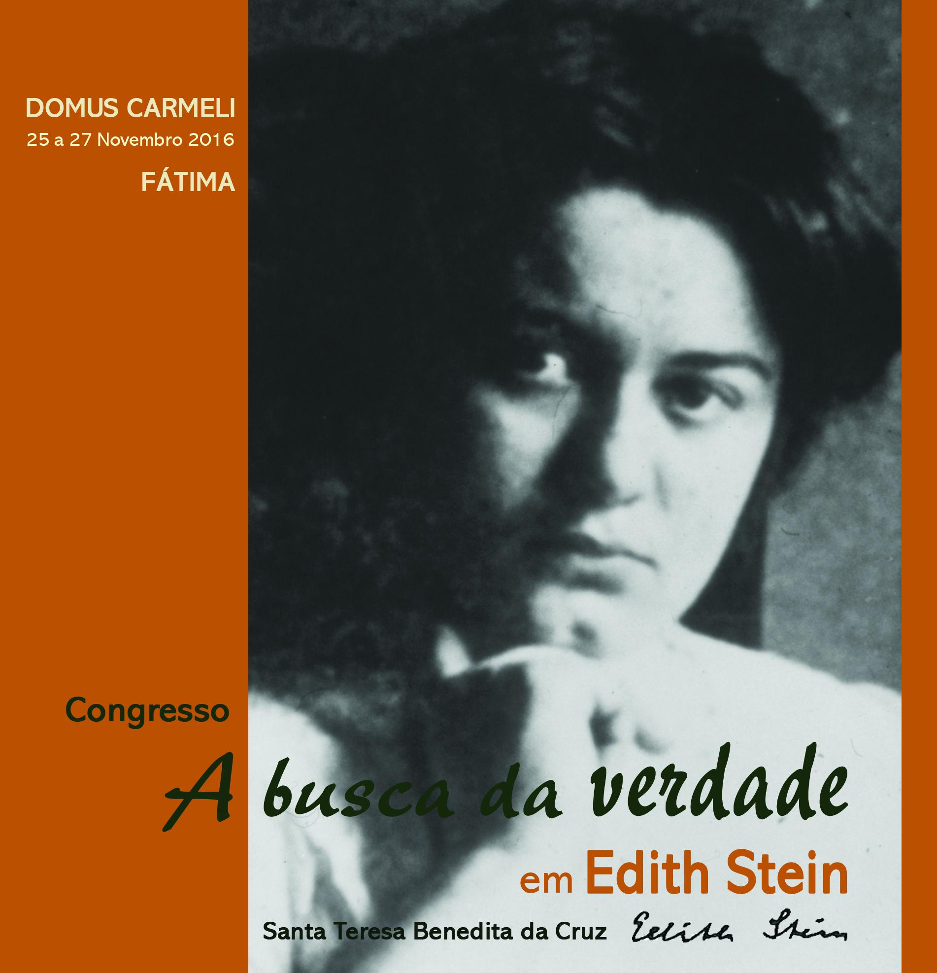 """Congresso """"A busca da verdade em Edith Stein"""""""