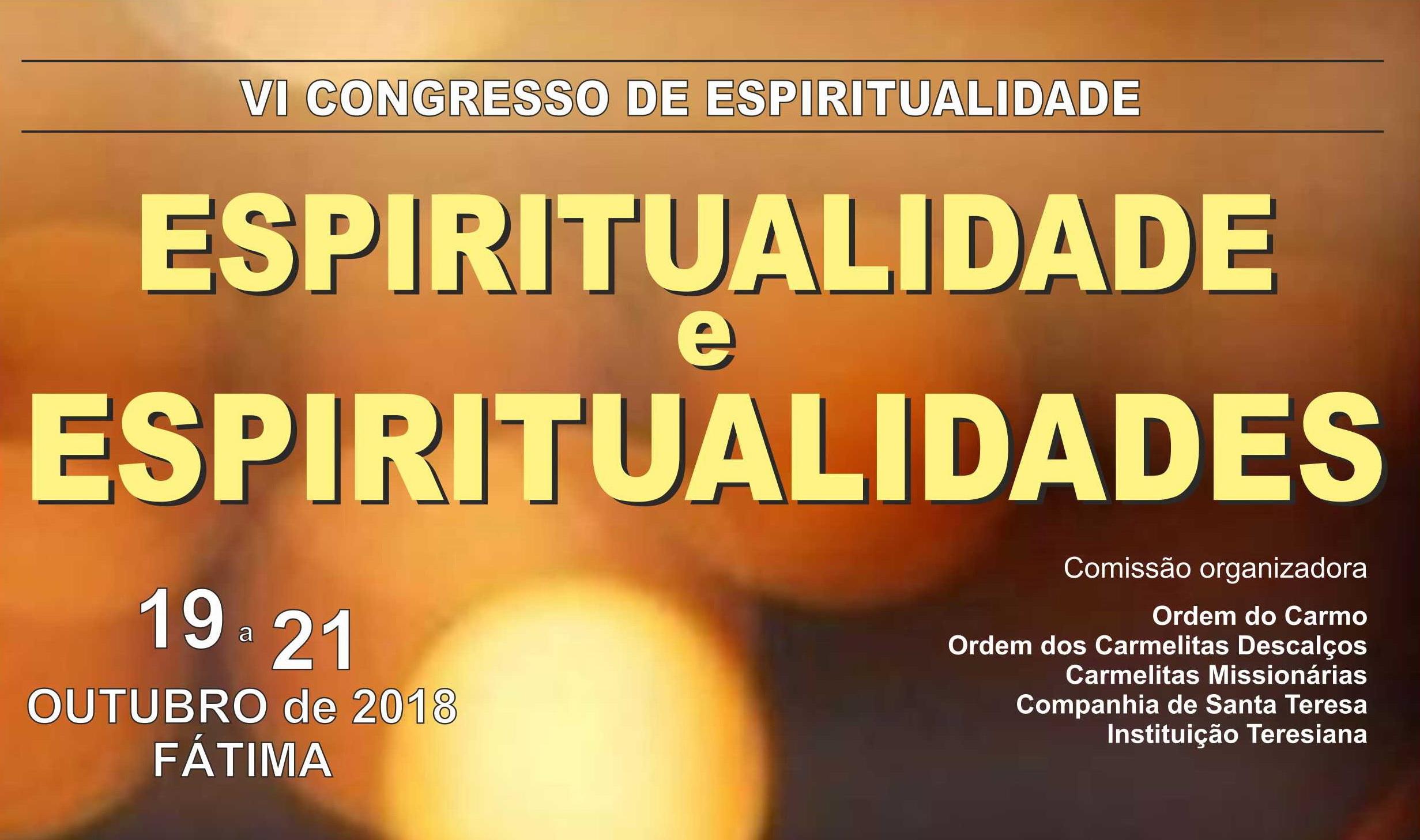 Congresso «Espiritualidade e Espiritualidades»
