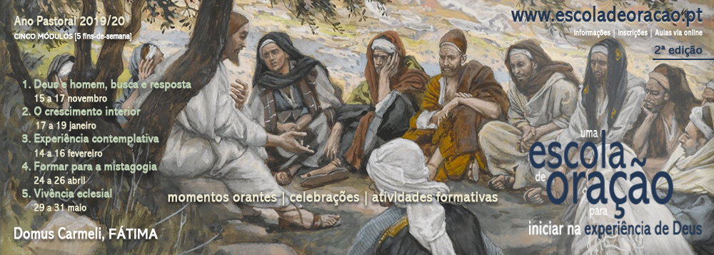 2ª edição da Escola de Oração